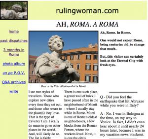 ah roma a roma pov