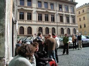 Restaurant on Piazza delle Cinque Scuole