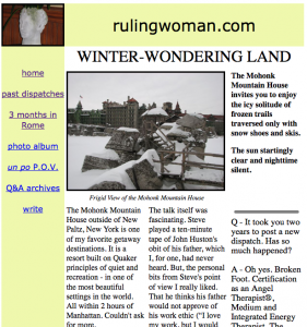 winter wondering land