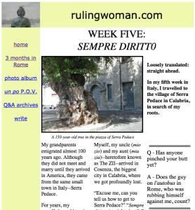 Week 5 Serra Pedace