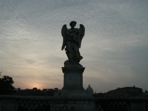 Angel on Pont Sant'Angelo